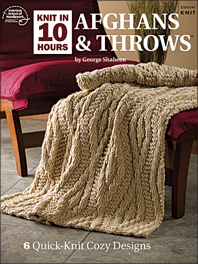 Afghan Throws Knitting Patterns : Knit beautiful, cozy afghans & throws in no time! myfreshreviews